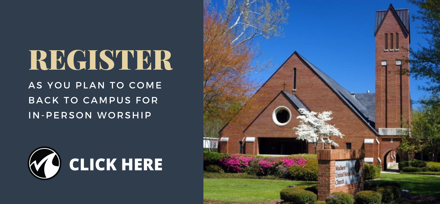 Register to Return to Campus Worship